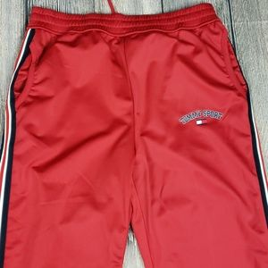 Tommy Hilfiger Sport Pants Zippered Legs Medium
